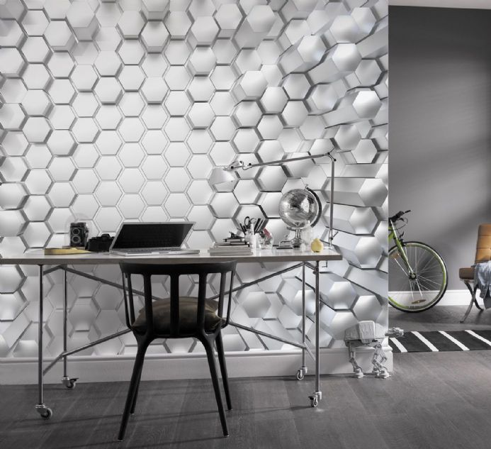 Titanium paper wallpapers by Homewallmurals
